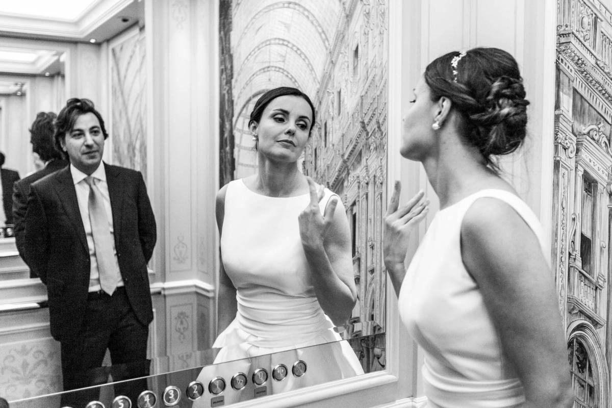 Servizio fotografico matrimonio Palazzo Parigi
