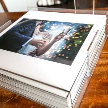 Album fotografico matrimonio Como
